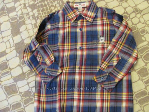 Новая рубашка р 110-116