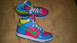 евро 31. 5 кожа унисекс кроссовки Nike
