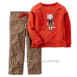 Супертеплая Флисовая пижамка Carters, р. 4Т
