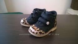 Демисезонные ботинки на флисе Woopy orthopedic 21р