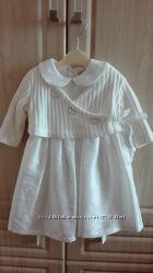 Платье  Coccobello 80р. с болеро и шляпкой для принцессы
