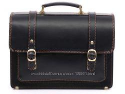 Кожаный портфель СПС-1, ручная работа