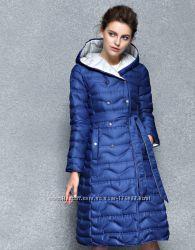 Новые модели зимних пуховых  пальто 2017