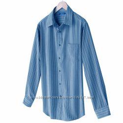 Рубашка Croft& Barrow из плотной ткани. Размер S.