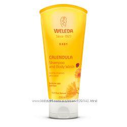 WELEDA  Шампунь-гель для тела и волос для младенцев и детей