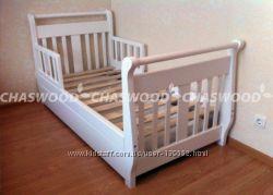 Кровать Лия  из массива дерева.