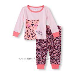 Яркая пижамка от CHILDRENS PLACE для девочки 4-5 лет