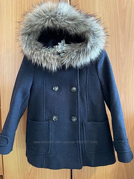 Демисезонное пальто на девочку 11-12 лет рост 152 см от ZARA
