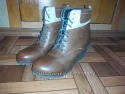 Кожаные ботинки Braska