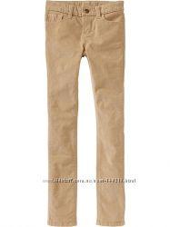 Джинсы-скинни и вельветовые брюки OLD NAVY. Размер 7 и 8 лет