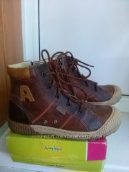 Качественные кожанные ботинки ТМ Antilopa
