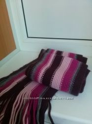 Теплый и стильный шарф