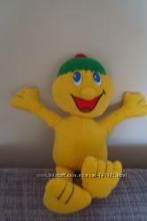 Большой веселый смайлик- мягкая игрушка