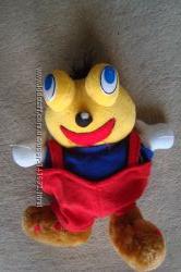 Забавный смайлик-мягкая игрушка