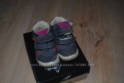 Натуральные демисезонные ортопедические ботиночки