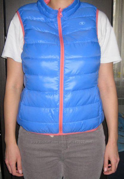 Жилет пуховик двухсторонний женский Tom Tailor с фирменной сумочкой