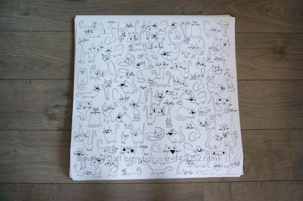 #6: Коты 60смх60см