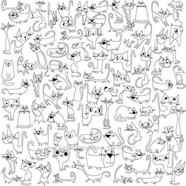 #8: Коты 60смх60см
