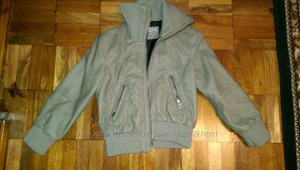 Продам деми курточку на 5-6 лет