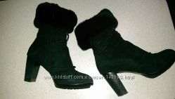 Красивые зимние ботинки на меху