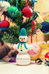Готовимся к Новому Году, украшаем елку праздничными шариками, пока дешево
