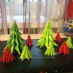 Новогодняя елка украшение интерьера