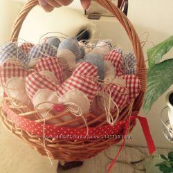 Подарки к Дню Святого Валентина , украшения из фетра, флиса