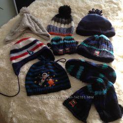 Модные шапки и наборы на весну для мальчика