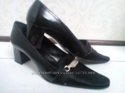 Брендовые кожанные туфли