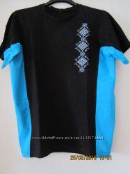 Вышитые футболки, цвета и размеры в ассортименте
