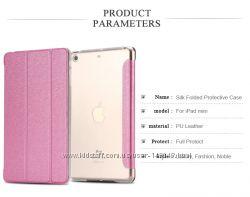 Чехол для iPad AIR 2 Smart Cover с прозрачной задней крышкой