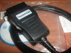 Диагностический сканер TOYOTA KCAN 2. 0 Commander TOYOTA LEXUS SCION ключи