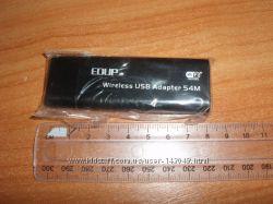 Plotech WLG-1502 cетевая беспроводная USB EDUP 54M Wi-Fi карта плата вайфай