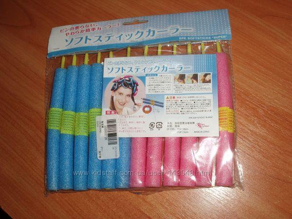 Tico Simple Self-adhesive мягкие бигуди EPE SoftSticks SUPER с липучкой 12