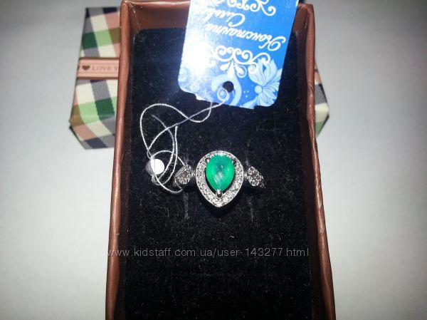 кольца и серьги из серебра с полудрагоценными камнями