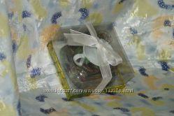 Кофейная чашечка с блюдцем, в подарочной упаковке