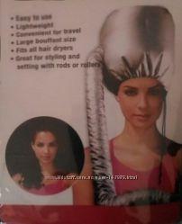 Колпак насадка на фен для укладки и лечения волос. Сушуар