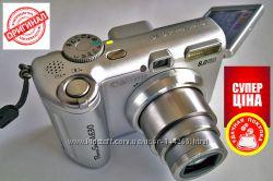 Фотоаппарат Canon A630 с матрицей 8. 3 МП 11. 8