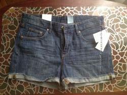 новые джинсовые шорты НМ