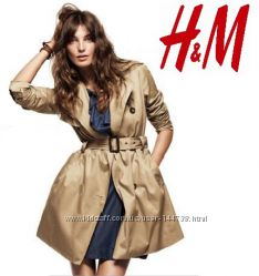Красивый плащ H&M