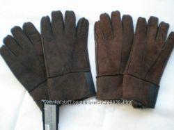перчатки на овчине Mark New York USA  100y. e. , р M, L-XL