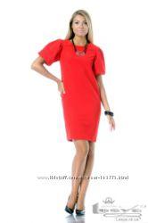 Платье красное  Леся Украинка