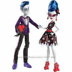 Monster High - Слоу Мо и Гулия Йелпс серия Любовь не умерла