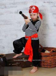 Костюм разбойника, пирата на рост от 116 до 128.