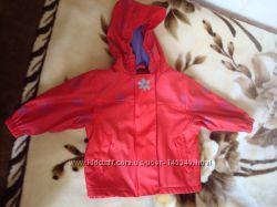 куртка - дождевик непромокайка Lupilu на флисе