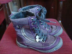 красивые стильные кожаные ботиночки сапожки Jochie for kids, р. 27