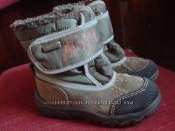 отличные зимние замшевые термо ботиночки сапожки bama мембрана bamatex р. 23