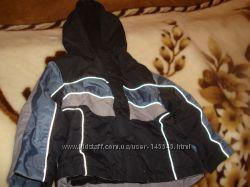 Стильная теплая куртка на мальчика, Matalan, Англия, 9-12 мес.