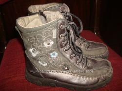 кожанные ботиночки Melania, р. 27, стелька 17 см