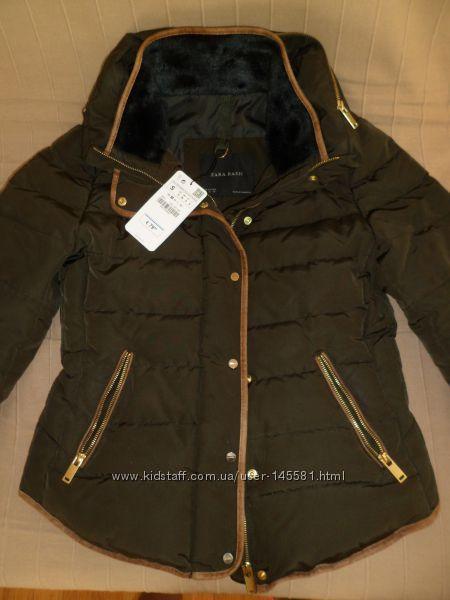 Zara куртка пуховик Зара. Оригинал